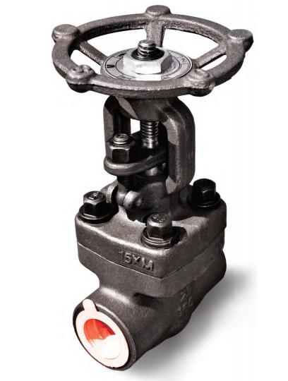 Задвижка клиновая компактная с выдвижным шпинделем